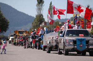 Squamish Days Loggers Sports Festival Parade