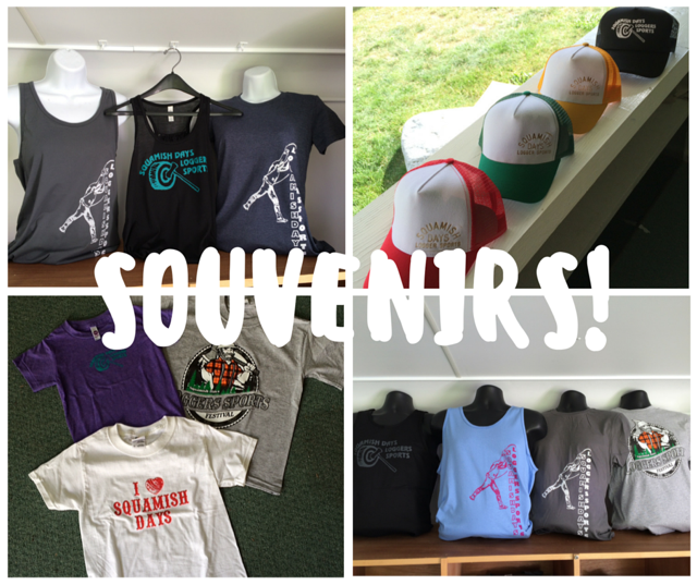 Squamish Days Loggers Sports Souvenirs